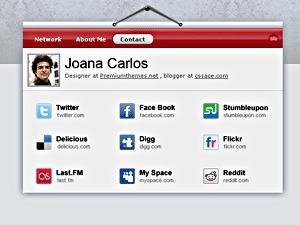 Name.ly/Cards WordPress theme