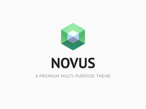 Novus WordPress template