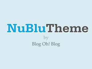 Nublu WordPress blog template