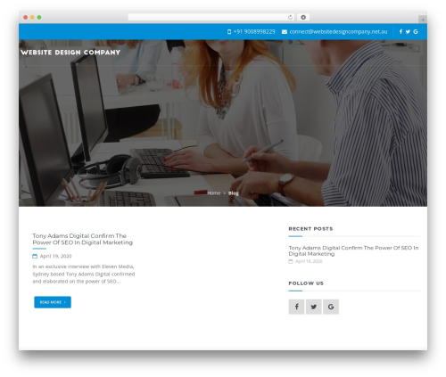 Offline Sharks Lead Gen Child Theme company WordPress theme - websitedesigncompany.net.au