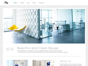 Pai company WordPress theme