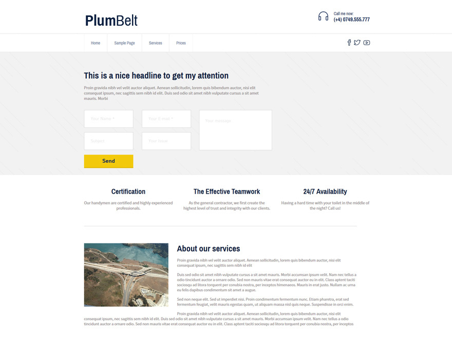 PlumBelt Lite theme free download