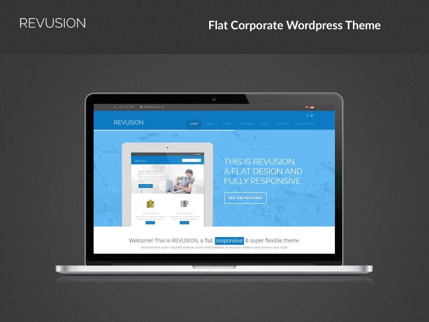 Revusion WordPress theme