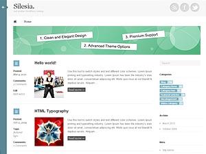 Silesia WordPress theme