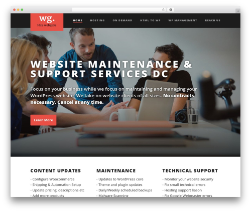 Suite WP template - webguys2hire.com