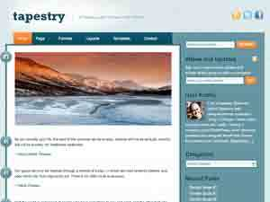 Tapestry Child Theme WP template