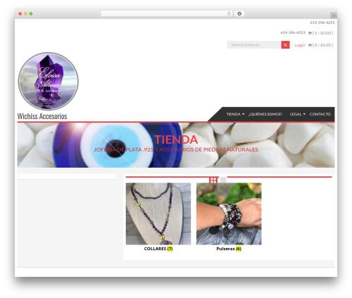 Template WordPress AccessPress Store - wichiss.com