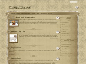 The Vintage best WordPress theme