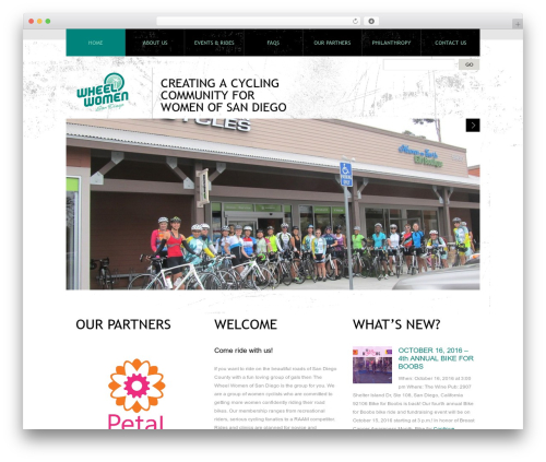 Theme 1274 template WordPress - wheelwomensd.com