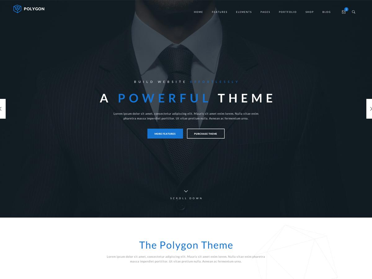 Theme WordPress TM Polygon