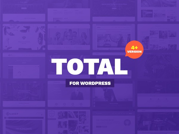 Total best WordPress theme