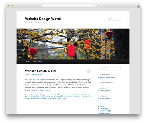 Twenty Eleven best free WordPress theme - websiteserviceswirral.com