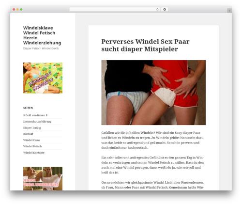Twenty Fifteen template WordPress free - windelsklave.com