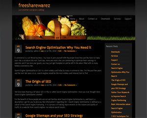 Vegetable best WordPress template