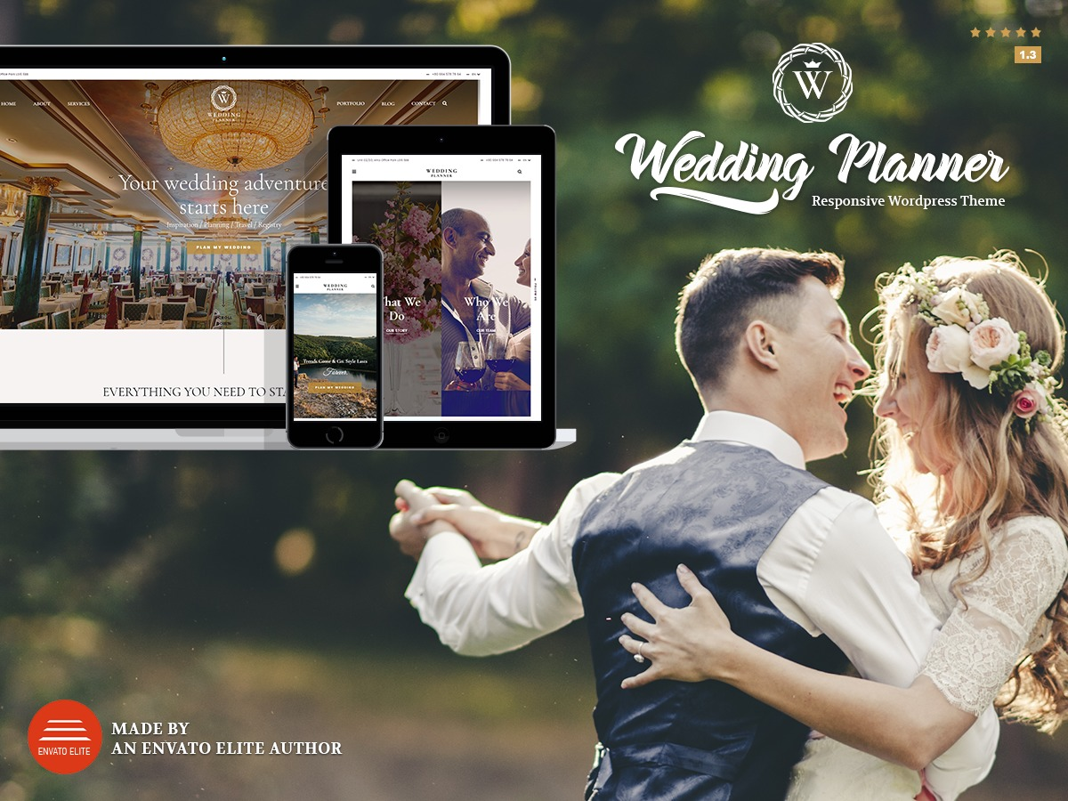 Wedding Planner WordPress wedding theme