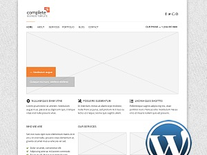 WordPress template Complete WP v 1.0.0