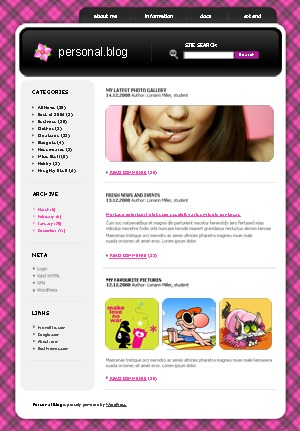 WordPress theme 706 WordPress theme