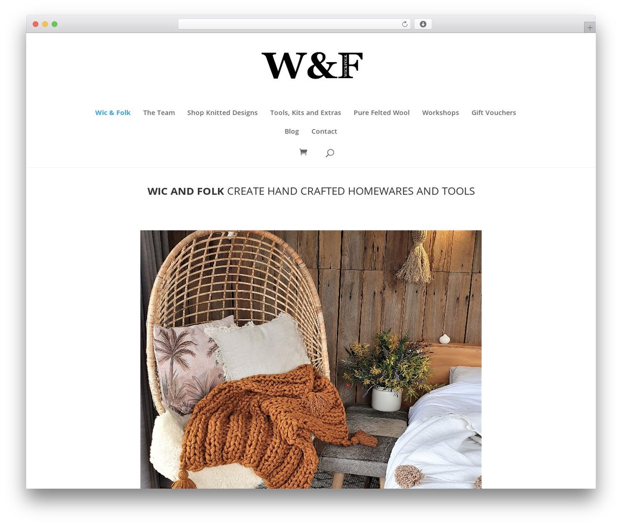 WordPress theme Divi - wicandfolk.com.au