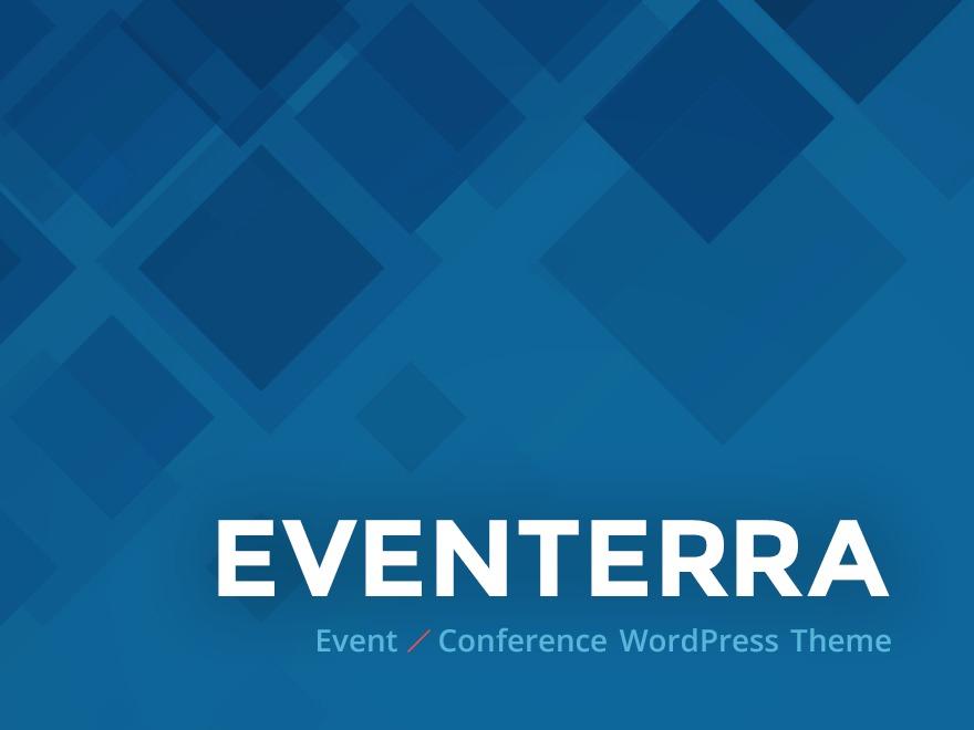 WordPress theme Eventerra