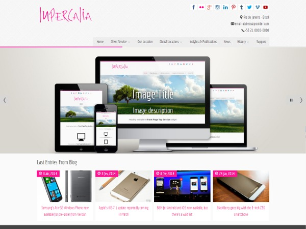 WordPress theme Lupercalia