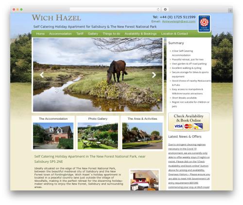 WordPress theme Twenty Twelve - wichhazel.co.uk