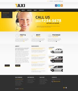 WordPress website template theme46379
