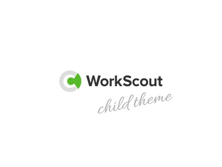 WorkScout Child WordPress page template