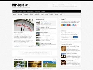WP-Bold top WordPress theme