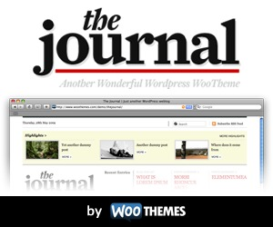 WP theme The Journal