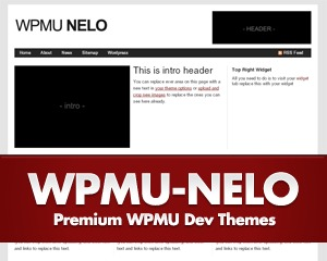 WPMU Nelo wallpapers WordPress theme