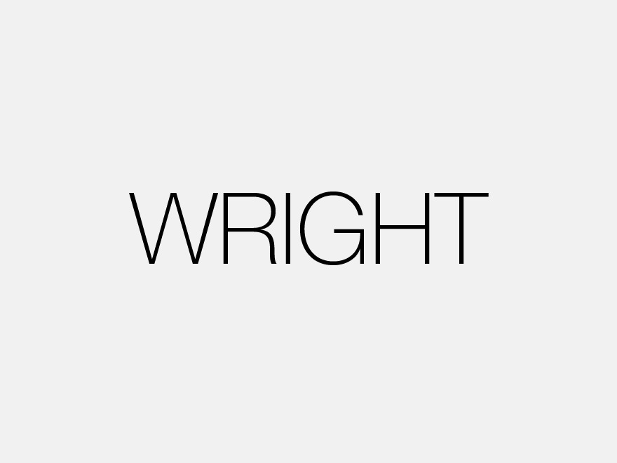 Wright template WordPress
