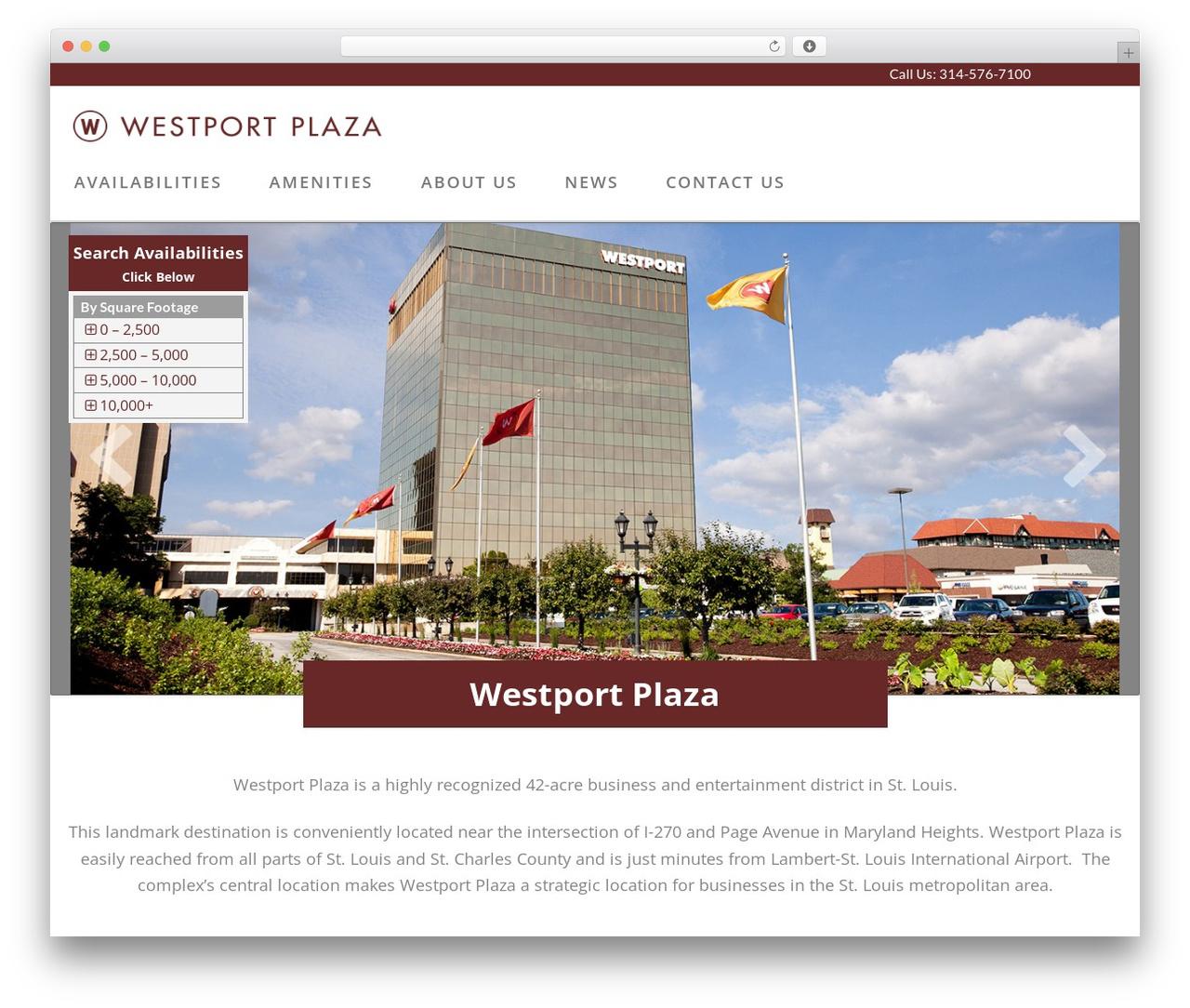 X WordPress template - westportstlleasing.com