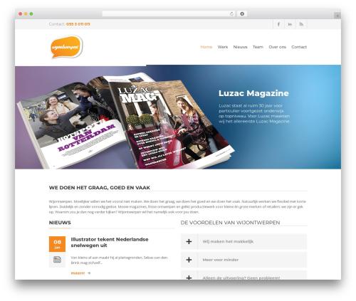 Yalu newspaper WordPress theme - wijontwerpen.nl