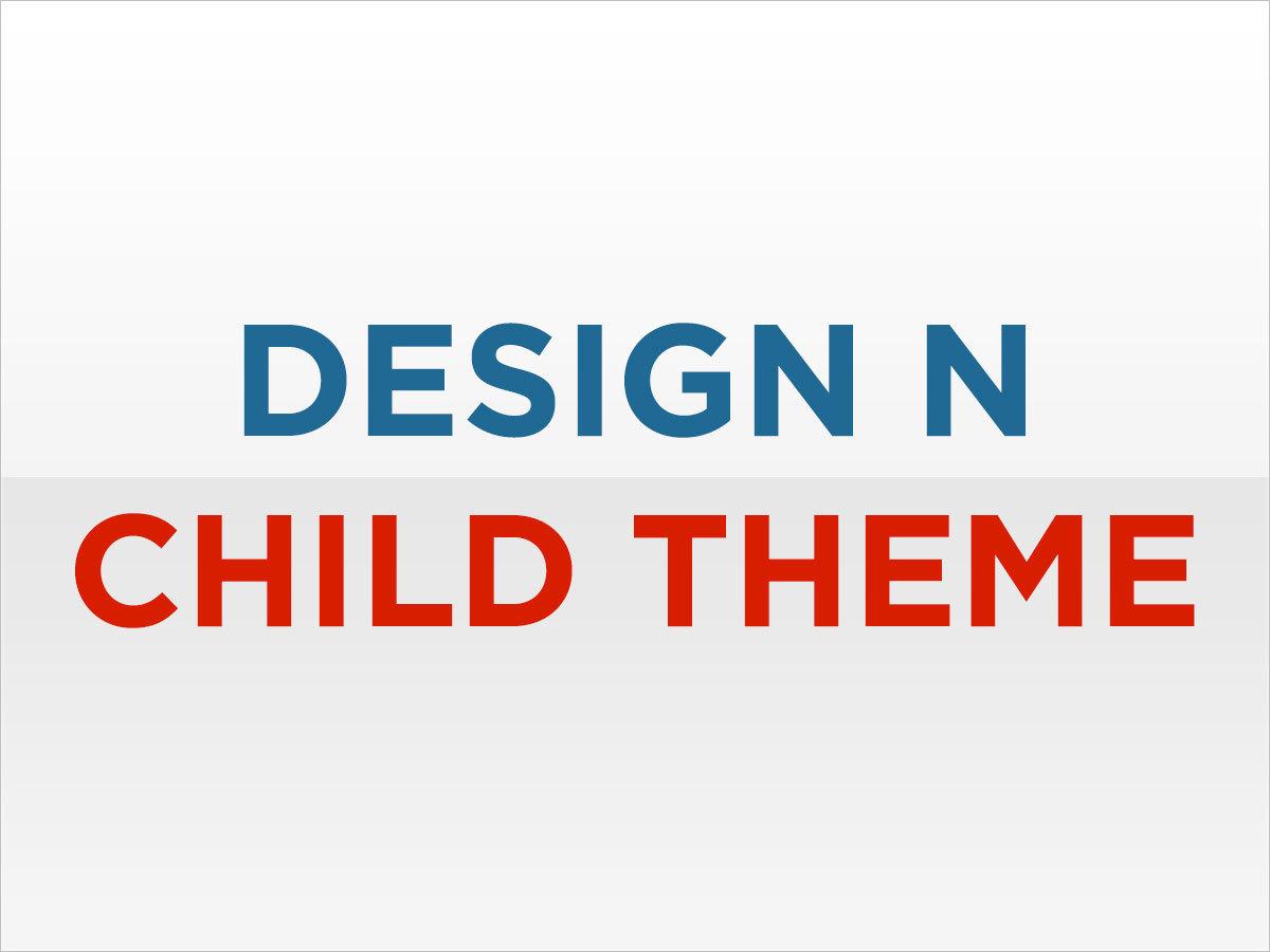 Design N Child WordPress website template