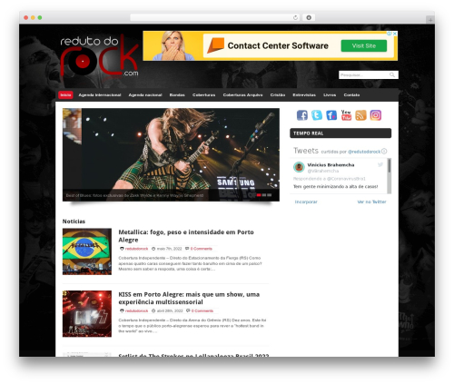 Quik Wordpress Theme best WordPress theme - redutodorock.com.br
