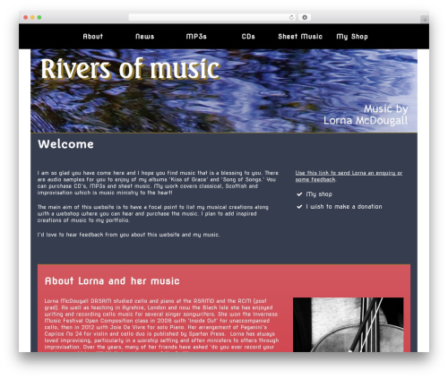 Free WordPress Contact Coldform plugin - riversofmusic.co.uk