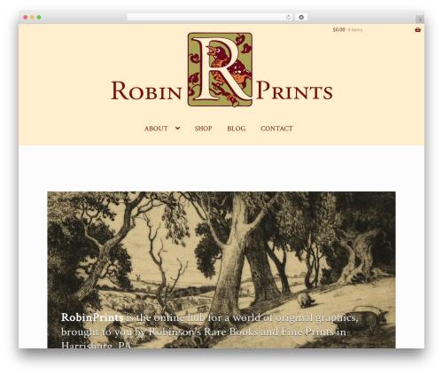 RobinPrints WordPress theme - robinprints.com