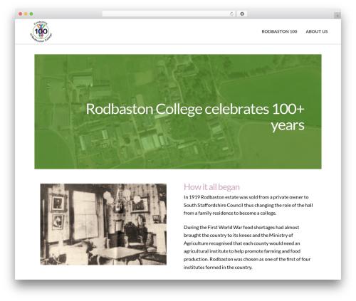 Template WordPress Pro - rodbastonhall.co.uk