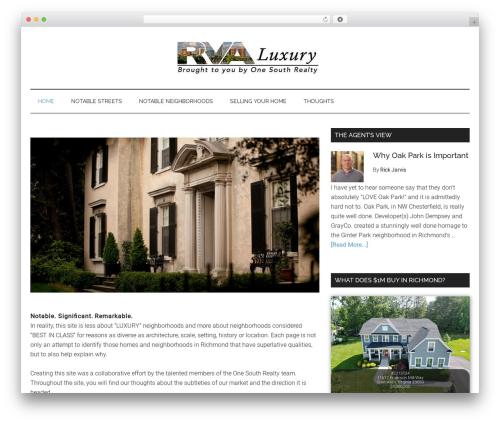 Theme WordPress Magazine Pro Theme - richmondluxuryneighborhoods.com