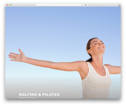 Twenty Seventeen free WordPress theme - rolfingpilates.com