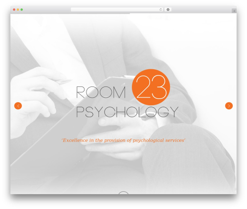 X best WordPress template - room23.com.au
