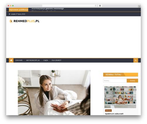 Eggnews WordPress template free - rehmedplus.pl