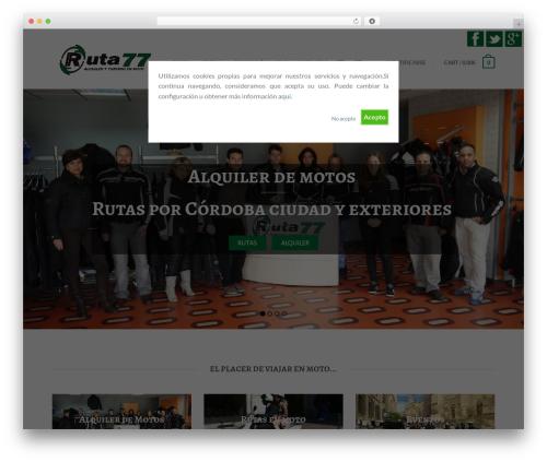 Flatsome (Shared on www.MafiaShare.net) WordPress theme - ruta77.es