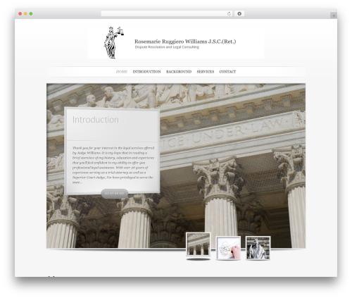 SimplePress theme WordPress - rrwlegal.com