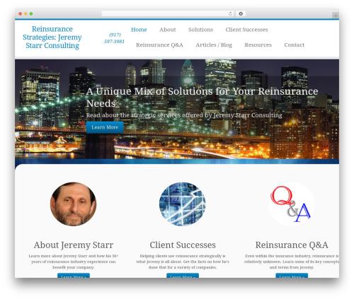 Customizr template WordPress free - reinsurancestrategies.com