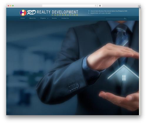 Domestica company WordPress theme - rdrealty.ph