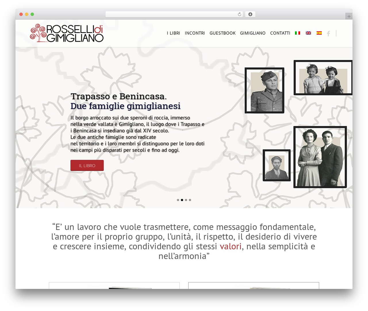 Eden template WordPress - rossellidigimigliano.it