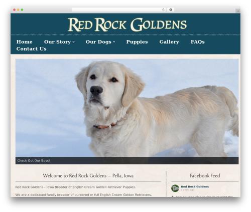 Gantry Theme for WordPress WordPress theme design - redrockgoldenretrievers.com