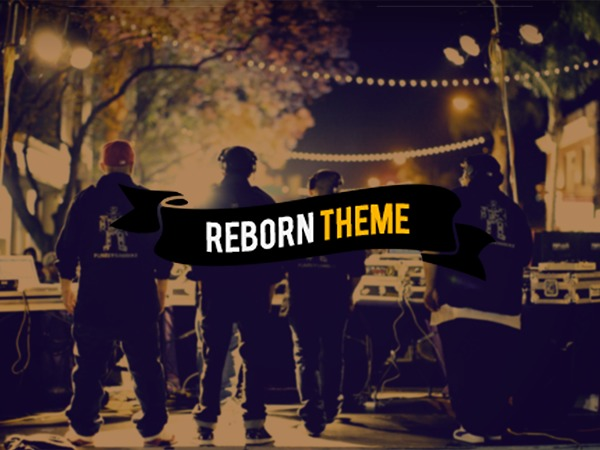 Reborn Wordpress Theme V1.2 best portfolio WordPress theme