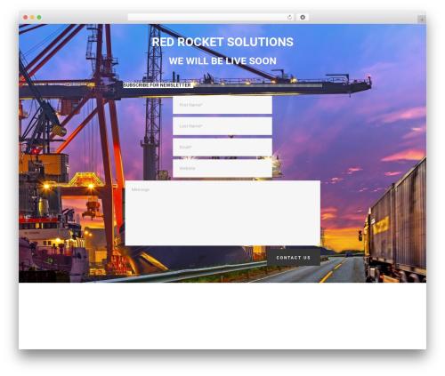 Theme WordPress Jupiter - redrocketsolutions.co.uk